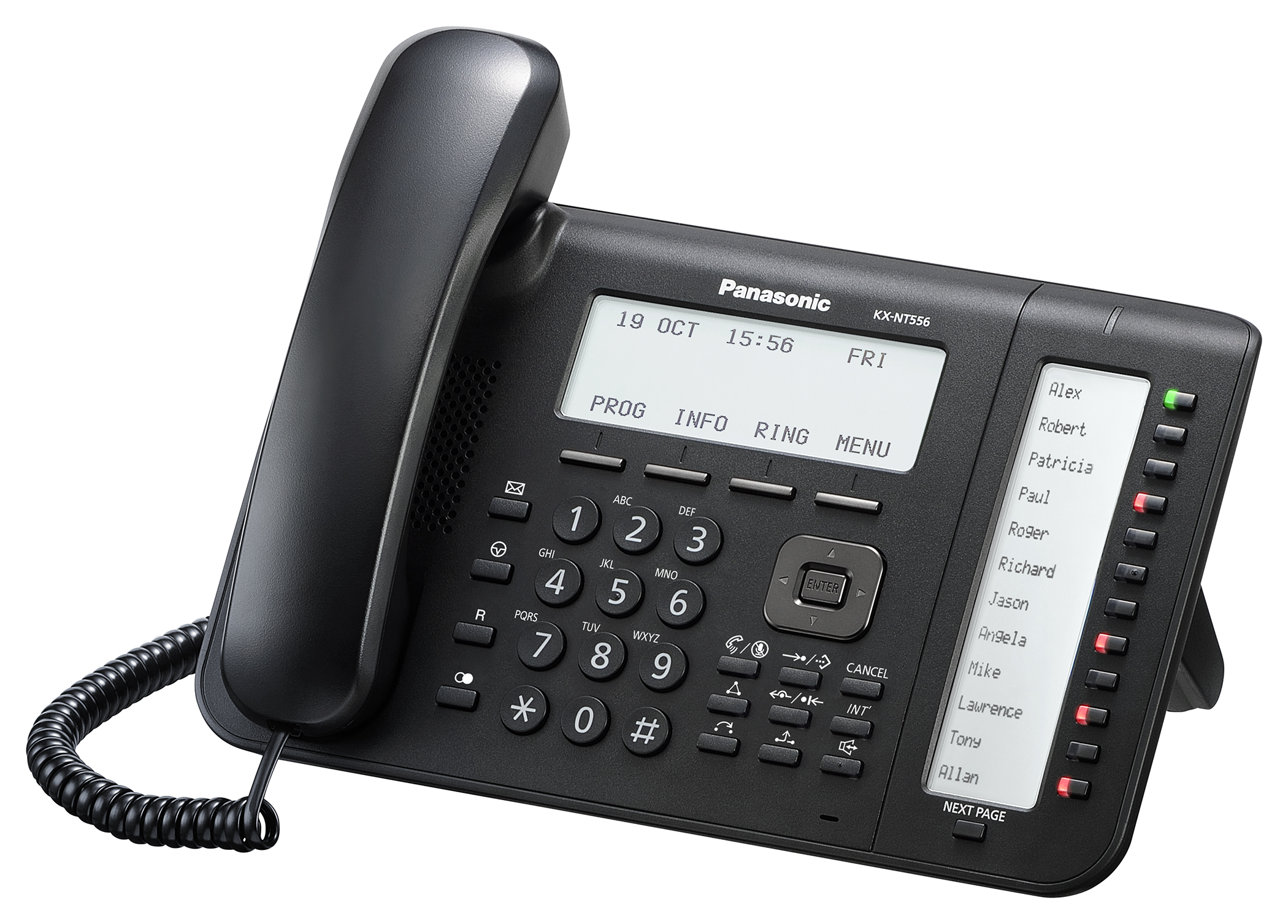 panasonic phone label template - voip phone systems provided by infotel of richmond va