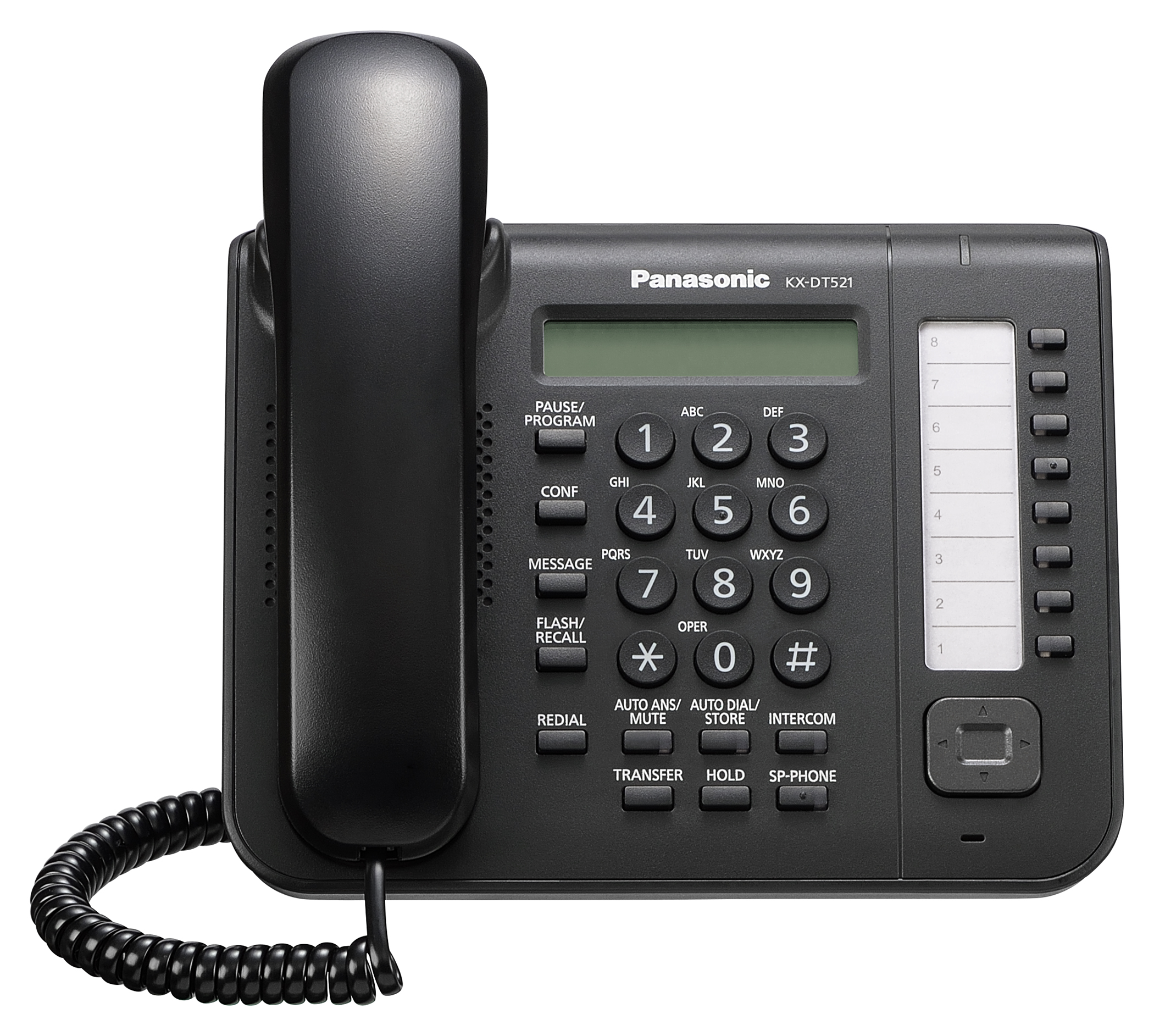Voip phone systems provided by infotel of richmond va for Panasonic phone label template