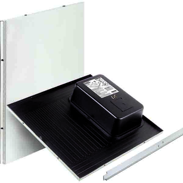paging speaker for celing tile-wide dispersion, fast install